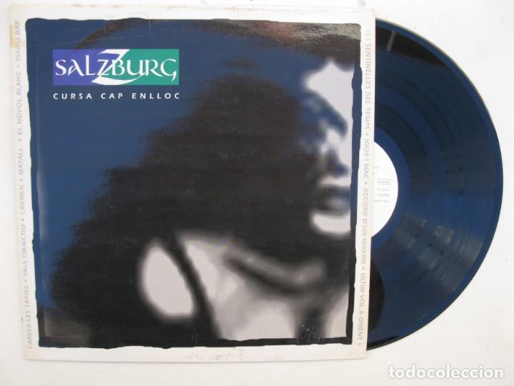 LP - SALZBURG - CURSA CAP ENLLOC - PICAP - AÑO 1992. (Música - Discos - LP Vinilo - Grupos Españoles de los 90 a la actualidad)