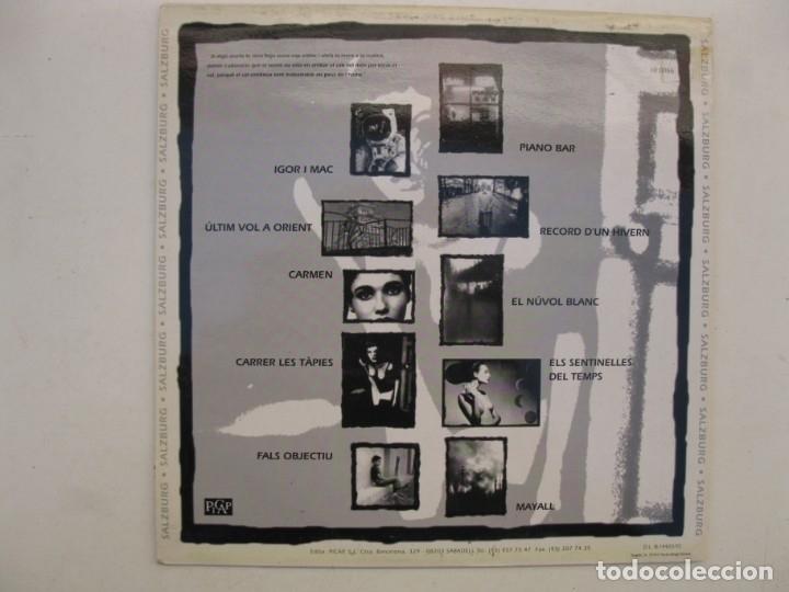 Discos de vinilo: LP - SALZBURG - CURSA CAP ENLLOC - PICAP - AÑO 1992. - Foto 2 - 165362210