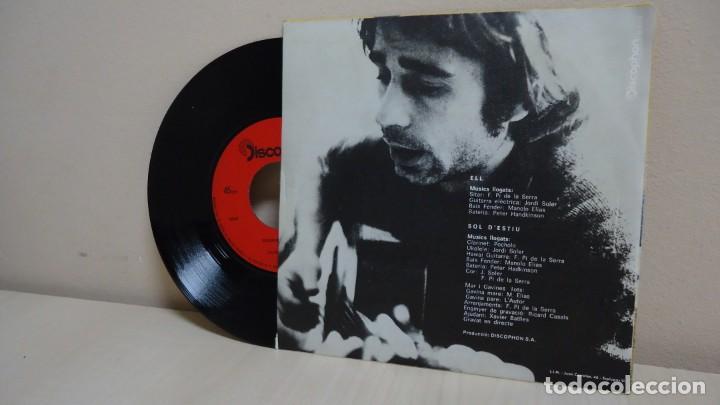 Discos de vinilo: OVIDI MONTLLOR -SOL D,ESTIU ELL-PI DE LA SERRA- POCHOLO-JORDI SOLER -BCN-AÑO 1971-DISCOPHON - Foto 2 - 165365986