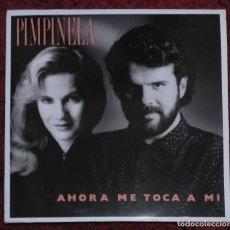 Discos de vinilo: PIMPINELA (AHORA ME TOCA A MI) LP 1989. Lote 165366114