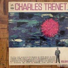 Discos de vinilo: CHARLES TRENET ?– VOLUME 1 SELLO: COLUMBIA ?– SCTX 340.462 FORMATO: VINYL, LP, COMPILATION, STEREO. Lote 165367750