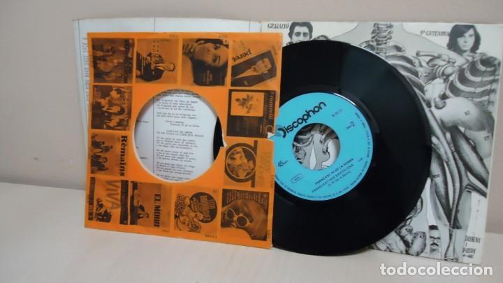 Discos de vinilo: FRANCESC PI DE LA SERRA - PASSEJANT PER BARCELONA -NO M,AGRADA LA CARA QUE FAS - DISCOPHON 1970 - Foto 4 - 165367974