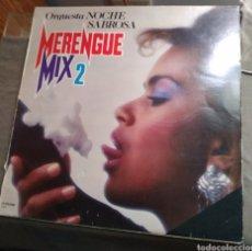 Discos de vinilo: ORQUESTA NOCHE SABROSA. MERENGUE MIX 2. Lote 165372649