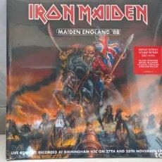 Discos de vinilo: MUSICA DOBLE LP: IRON MAIDEN. MAIDEN ENGLAND´88. PICTURE DISC REEDICION DE 2013. PRECINTADO (ABLN). Lote 165380434