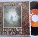 Discos de vinilo: FICTION FACTORY - FEELS LIKE HEAVEN / EVERYONE BUY YOU - SINGLE ALEMAN 1985 - CBS. Lote 165384930
