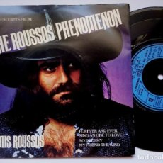 Discos de vinilo: DEMIS ROUSSOS - FOREVER AND EVER - EP FRANCES 1976 - PHILIPS. Lote 165388886