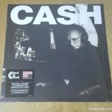 Discos de vinilo: JOHNNY CASH - AMERICAN V: A HUNDRED HIGHWAYS (LP 2006, BACK TO BLACK 0600753441688) PRECINTADO. Lote 165389890
