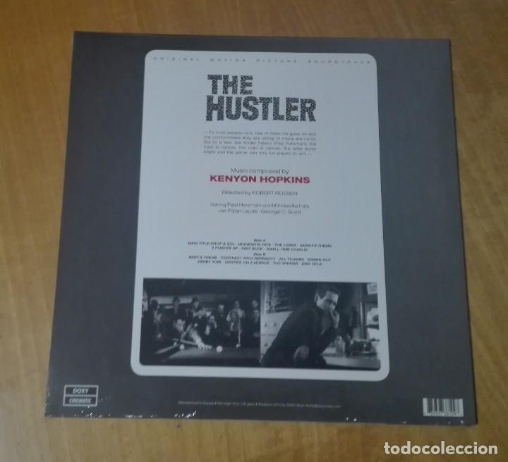 Discos de vinilo: KENYON HOPKINS - Original Motion Picture Soundtrack: The Hustler (LP 2014, Doxy DOC109) PRECINTADO - Foto 2 - 165391538