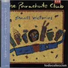 Discos de vinilo: OFERTA LP PROMO JAPON THE PARACHUTE CLUB – SMALL VICTORIES. Lote 165395574