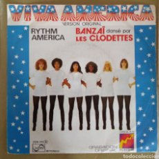 Disques de vinyle: BANZAI - RYTHM AMERICA. Lote 165402397
