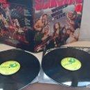 Discos de vinilo: MUSICA DOBLE LP: SCORPIONS - WORLD WIDE LIVE. EDICION ESPAÑOLA 1985. DIFICIL Y COTIZADO (ABLN). Lote 165415286