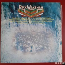 Discos de vinilo: RICK WAKEMAN - JOURNEY TO THE CENTRE OF THE EARTH. Lote 165415750