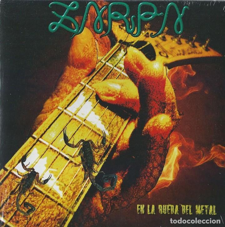 ZARPA SINGLE EN LA RUEDA..SPANISH HEAVY 2012-ESFINGE-EVO-MAZO-SUBTERRANEO-JUPITER-ROSA NEGRA (Música - Discos - Singles Vinilo - Heavy - Metal)