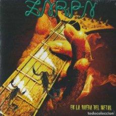 Discos de vinilo: ZARPA SINGLE EN LA RUEDA..SPANISH HEAVY 2012-ESFINGE-EVO-MAZO-SUBTERRANEO-JUPITER-ROSA NEGRA. Lote 165415950