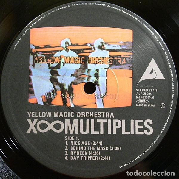 Discos de vinilo: LP Japon Yellow Magic Orchestra ‎– X∞Multiplies - Foto 3 - 165430170