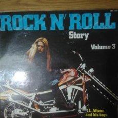 Discos de vinilo: J. ALTONN AND HIS BOYS ?– ROCK N' ROLL STORY VOL 3 SELLO: ABA (2) ?– 3348 FORMATO: VINYL, LP, COMPI. Lote 165434034