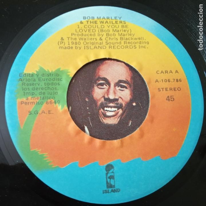 Discos de vinilo: MARLEY & THE WAILERS - COULD YOU BE LOVED- SPAIN SINGLE 1980- VINILO COMO NUEVO. - Foto 3 - 165435034