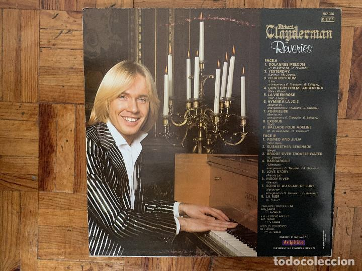 Discos de vinilo: Richard Clayderman ?– Rêveries Sello: Delphine ?– 700 036, Delphine ?– DEL 700036 Formato: Vinyl - Foto 2 - 165460130
