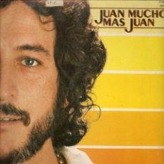 Discos de vinilo: LP. JUAN MUCHO MAS JUAN. HISPA VOX(P/B72). Lote 165468062