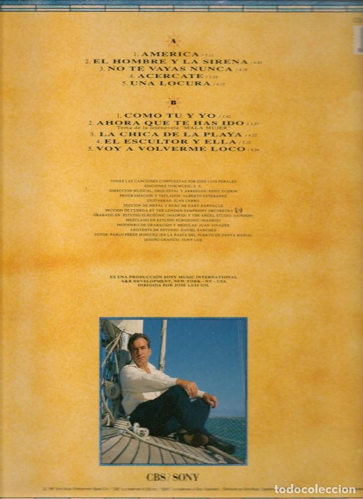 Discos de vinilo: LP. PERALES. AMÉRICA. (P/B72) - Foto 2 - 165469510
