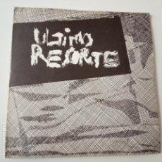 Discos de vinilo: ULTIMO RESORTE- EP 1982 - VINILO COMO NUEVO.. Lote 165474062