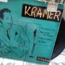Discos de vinilo: EP ( VINILO) DE KRAMER Y SU ORQUESTA AÑOS 50. Lote 165479614