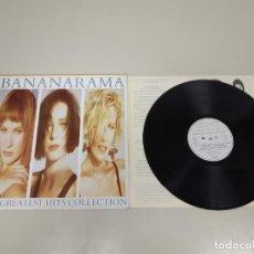 Disques de vinyle: 519-BANANARAMA THE GREATEST HITS LP VINILO ESP 1988 PORT VG + DISCO VG +. Lote 165479978