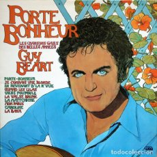 Discos de vinilo: GUY BÉART ?– PORTE-BONHEUR SELLO: DISQUES TEMPOREL ?– GB00031, WEA ?– 240037-1, DISQUES TEMPOREL ?–. Lote 165492666