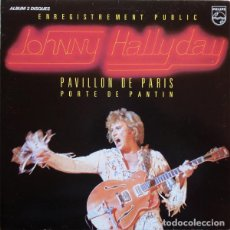Discos de vinilo: JOHNNY HALLYDAY ?– PAVILLON DE PARIS SELLO: PHILIPS ?– 6681 011 FORMATO: 2 × VINYL, LP, ALBUM, GATE. Lote 165493150