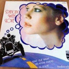 Discos de vinilo: LP - RED POINT - DANCING WITH LOVE - GRANDES COLECCIONES - EL CORTE INGLES. Lote 165518958