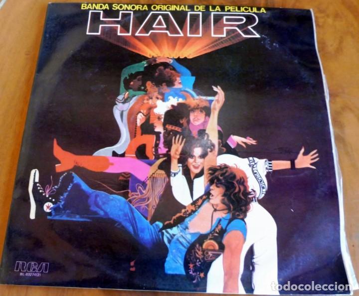 LP - RDA - BANDA SONORA ORIGINAL DE LA PELÍCULA HAIR - 2 LP'S (Música - Discos - LP Vinilo - Bandas Sonoras y Música de Actores )