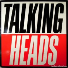 Discos de vinilo: TALKING HEADS – TRUE STORIES - LP PROMO SPAIN 1986 - EMI 074-2406121. Lote 165523214