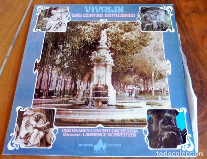 LP - NEVADA - VIVALDI - LAS CUATRO ESTACIONES (Música - Discos - LP Vinilo - Clásica, Ópera, Zarzuela y Marchas)