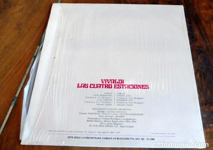 Discos de vinilo: LP - NEVADA - VIVALDI - LAS CUATRO ESTACIONES - Foto 2 - 165524730