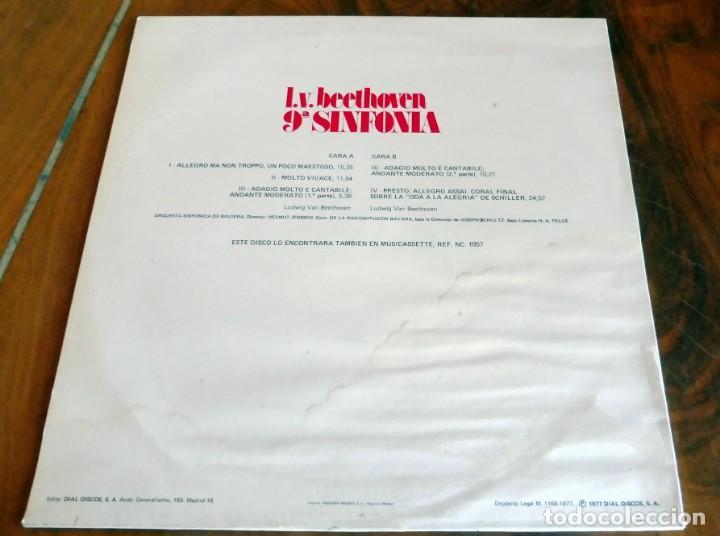 Discos de vinilo: LP - NEVADA - BEETHOVEN -9ª SINFONÍA - ORQUESTA SINFÓNICA DE BAVIERA - Foto 2 - 165525770