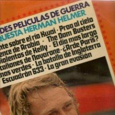 Discos de vinilo: LP. GRANDES PELICULAS DE GUERRA. ORQUESTA HERMAN HELMER. (P/B72). Lote 165528930