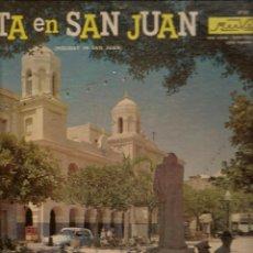 Discos de vinilo: LP. FIESTA EN SAN JUAN. ORQUESTA: ARTURO SOMOHANO. (P/B72). Lote 165529394