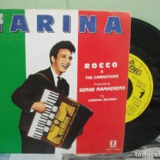 Vinyl records - ROCCO & THE CARNATIONS MARINA single spain 1989 pdeluxe - 165531410