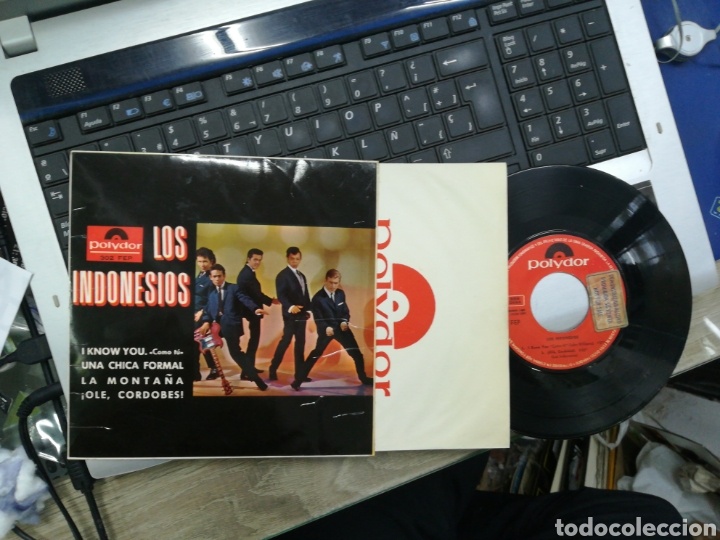Discos de vinilo: Los Indonesios ep I know you + 3 1965 - Foto 1 - 165535541