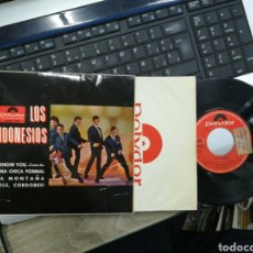 Discos de vinilo: LOS INDONESIOS EP I KNOW YOU + 3 1965. Lote 165535541