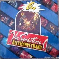 Discos de vinilo: THE SENSATIONAL ALEX HARVEY BAND. LIVE. VERTIGO, GERMANY 1975 LP (6370 408). Lote 165536466