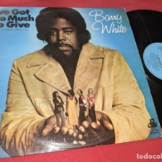 Disques de vinyle: BARRY WHITE I'VE GOT SO MUCH TO GIVE LP 1974 20THE CENTUR/MOVIEPLAY ESPAÑA SPAIN. Lote 165537530