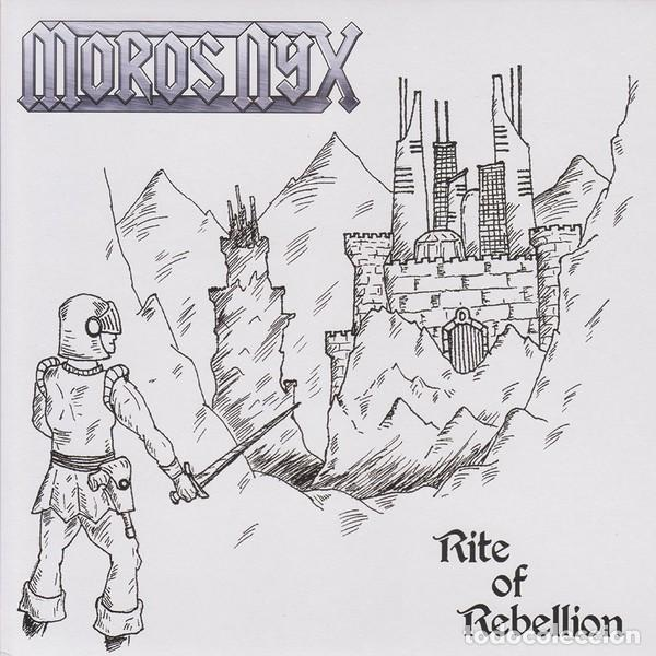 Discos de vinilo: Moros Nyx - Rite Of Rebellion - 7 [Underground Power Records, 2014] - Foto 1 - 165539878