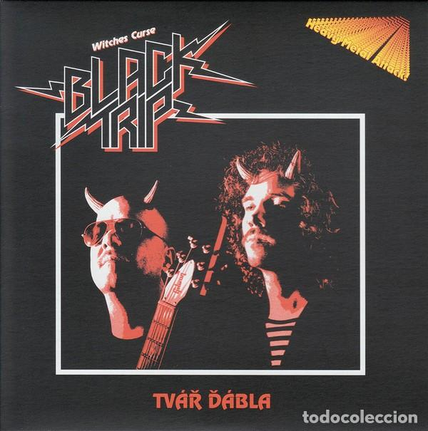 BLACK TRIP - TVÁ? ?ÁBLA - 7'' [PRIMITIVE ART RECORDS, 2012] (Música - Discos de Vinilo - EPs - Heavy - Metal	)