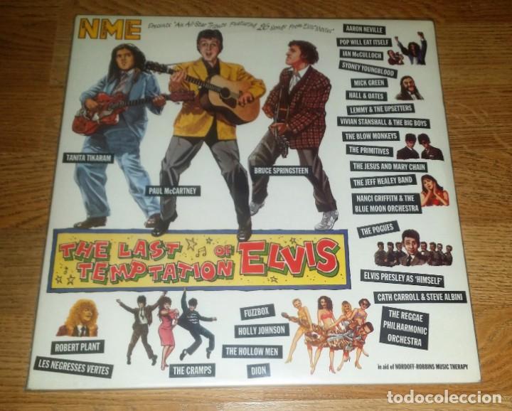 VARIOUS 2 LP THE LAST TEMPTATION OF ELVIS 1990 /THE CRAMPS-BRUCE SPRINGSTEEN (Música - Discos - LP Vinilo - Rock & Roll)