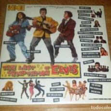 Discos de vinilo: VARIOUS 2 LP THE LAST TEMPTATION OF ELVIS 1990 /THE CRAMPS-BRUCE SPRINGSTEEN . Lote 165553238