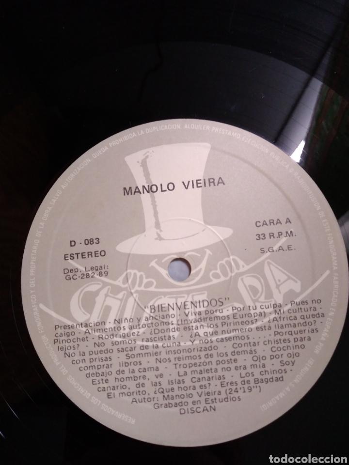Discos de vinilo: Manolo Vieira - Bienvenidos - Foto 4 - 165553740
