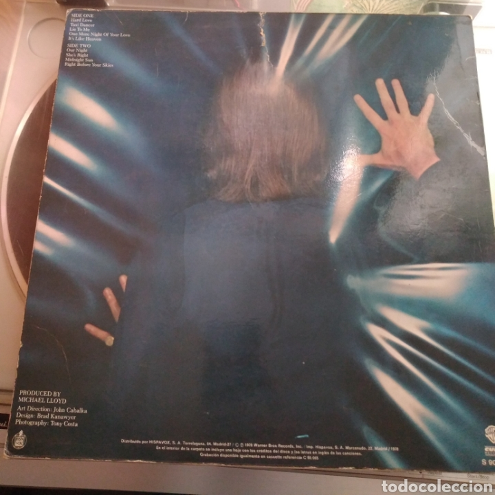 Discos de vinilo: Shaun Cassidy - Under Wraps - Foto 2 - 165553954