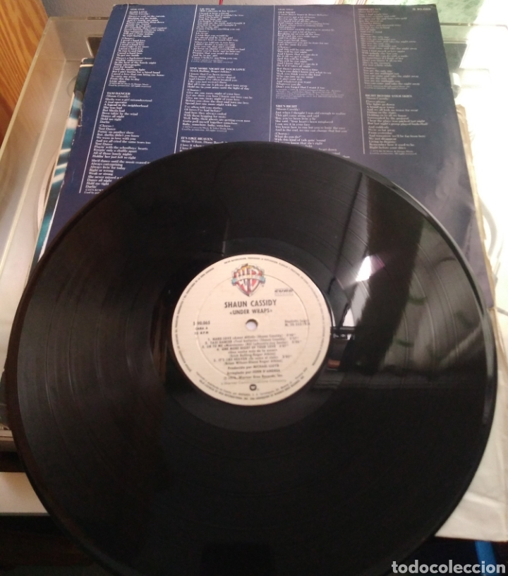 Discos de vinilo: Shaun Cassidy - Under Wraps - Foto 4 - 165553954