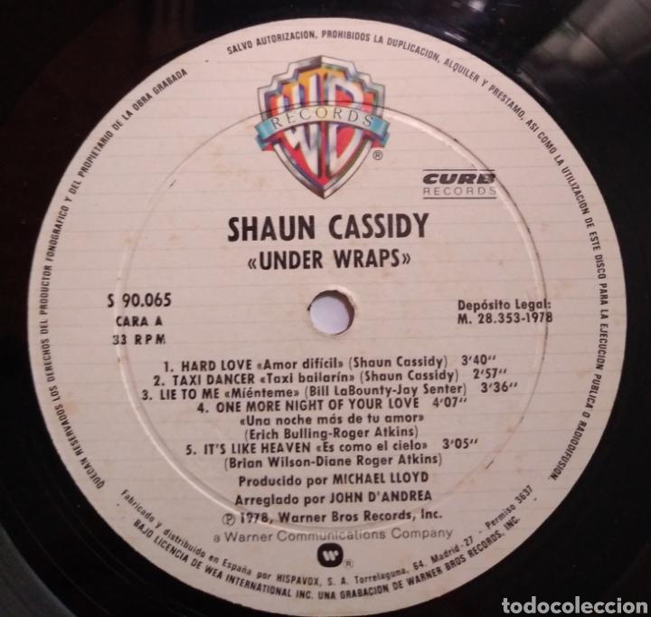 Discos de vinilo: Shaun Cassidy - Under Wraps - Foto 5 - 165553954